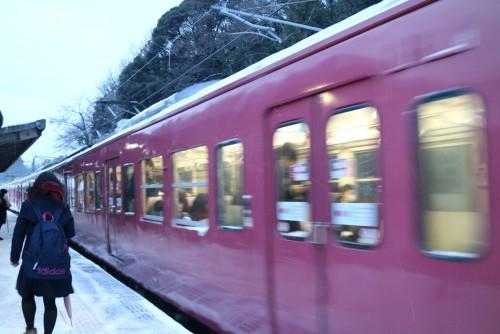 JR七尾線電車