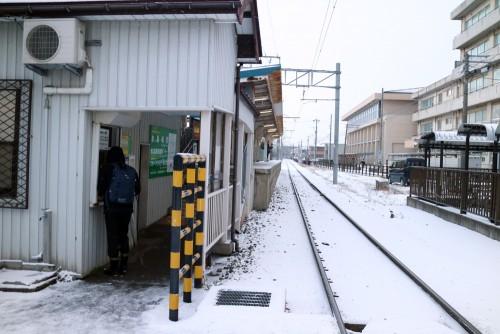 浅野川線割出駅
