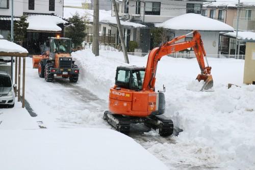 2018大雪の除雪